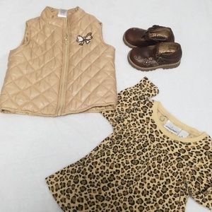 Baby girl Vest shirt and shoes